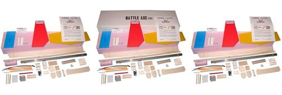 Battle Axe SSC KIT Bulk 3 Pack